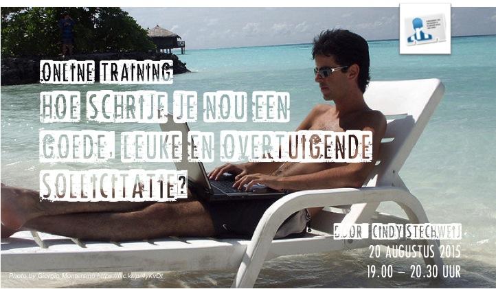 motivatiebrief training Online Training: Hoe schrijf je nou een leuke, goede en  motivatiebrief training